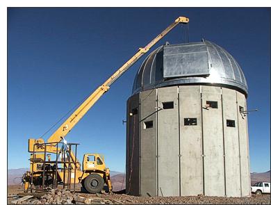 Observatorio en Tolar Grande